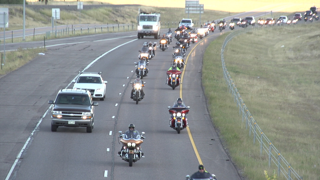 Colorado Springs Firefighters Motorcycle Ride