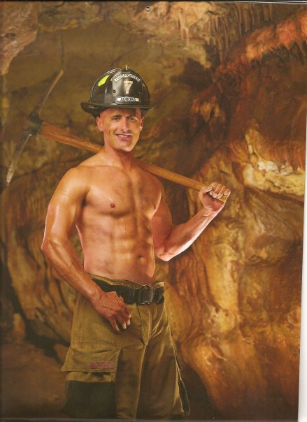Aurora Fire Rescue Zac Varela Fireman Calendar