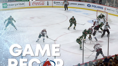 Toyota Game Recap Avs vs Wild 10-27-2018.png