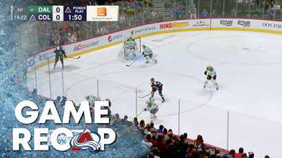 TOYOTA GAME RECAP | AVALANCHE VS. STARS 12-15-2018
