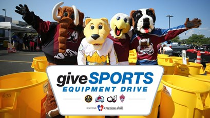 giveSPORTS Equipment Drive